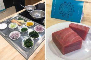 ingredientes para el atún