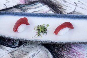 Nigiri de atún rojo