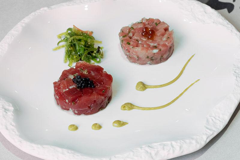 Dúo de tartar de atún rojo