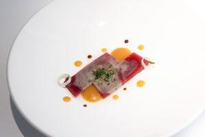 Ususukuri de atún encebollado