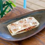 Atípico sandwich de atún rojo en chiringuito los Sueños