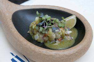 Ceviche de pez roca