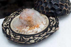 Coco loko con ventresca de atún rojo