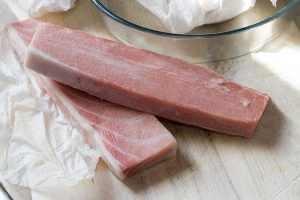 ventresca de atun rojo congelada
