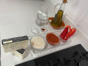 Ingredientes arroz con atún