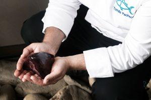 Corazón de atún rojo