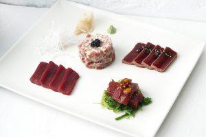 Surtido de atún rojo