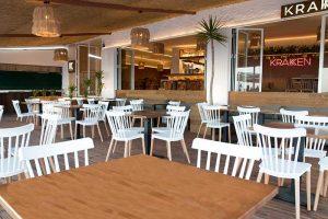 Terraza restaurante Kraken