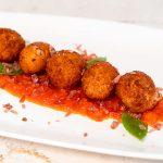 Deliciosas croquetas de atún rojo en tomate